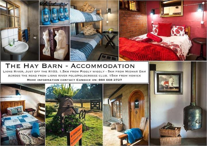 The Hay Barn - Family Room