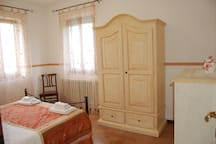 appartamento 50m2, due camere,per minimo 3 persone