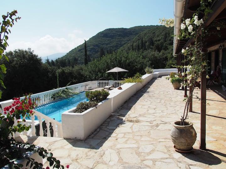 Sunrise Stone Villa with Private Pool