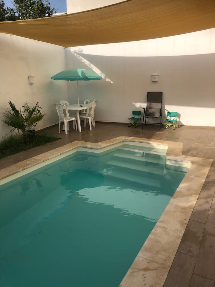 Le Lotus Hammamet  appartement piscine privée