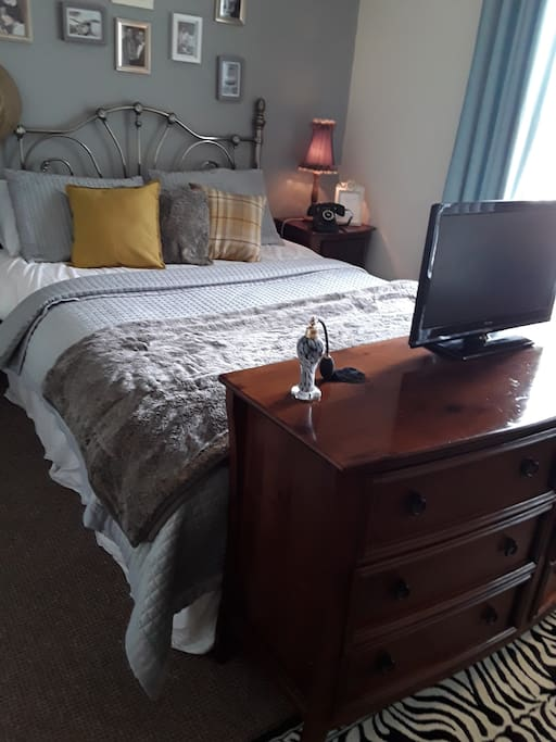 king size bed for a comfortable nights rest