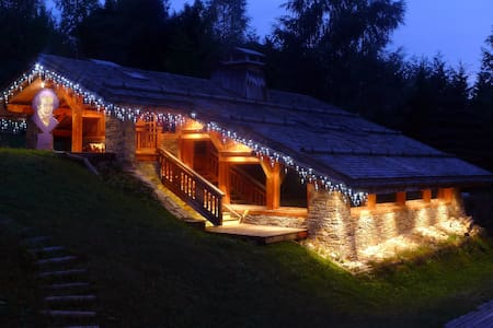 Chalet VIVA : luxe et quietude face au Mont Blanc - Bed & Breakfast