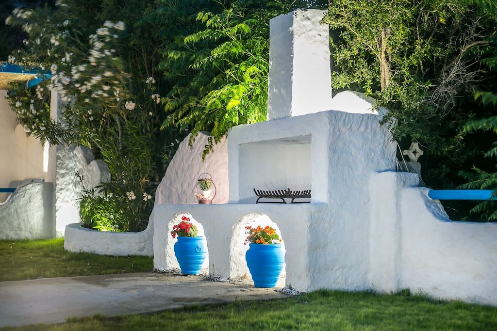 BBQ Faliraki Blue Villas