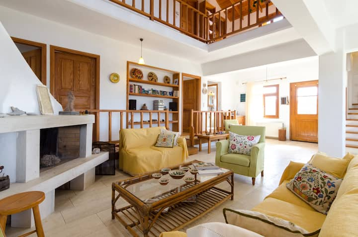 Papoura Country Home with magnificent view
