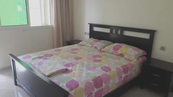 Apartment with 2 bedrooms in Saïdia, with furnished balcony