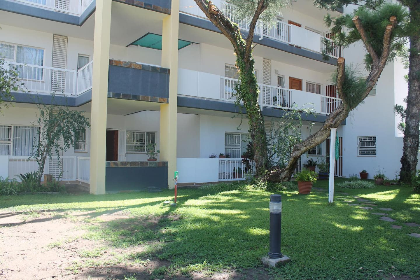 Fully furnished, ultra neat and convenient 1 bedroom flat available in tranquil, safe setting in secure building.