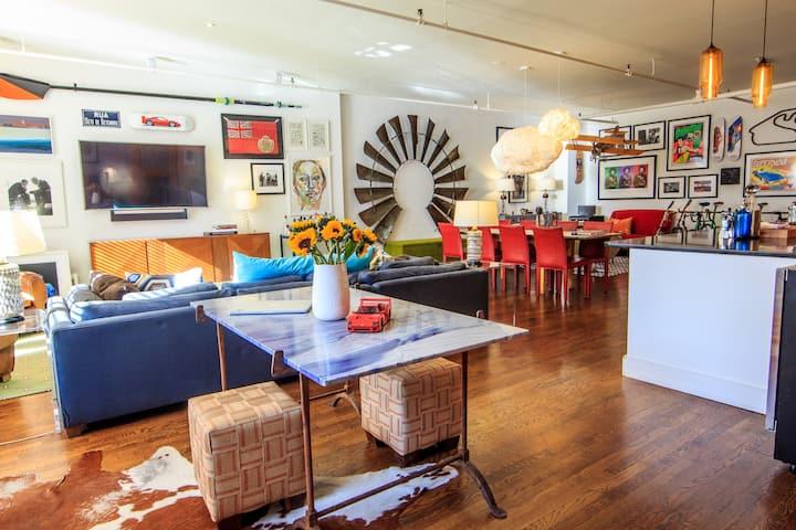 An Artist's Inspiration: Sun-Soaked Chelsea Loft