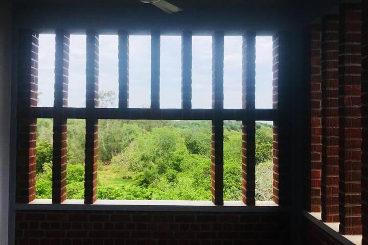Private floor with SemiOpen Living Near Aurovile .