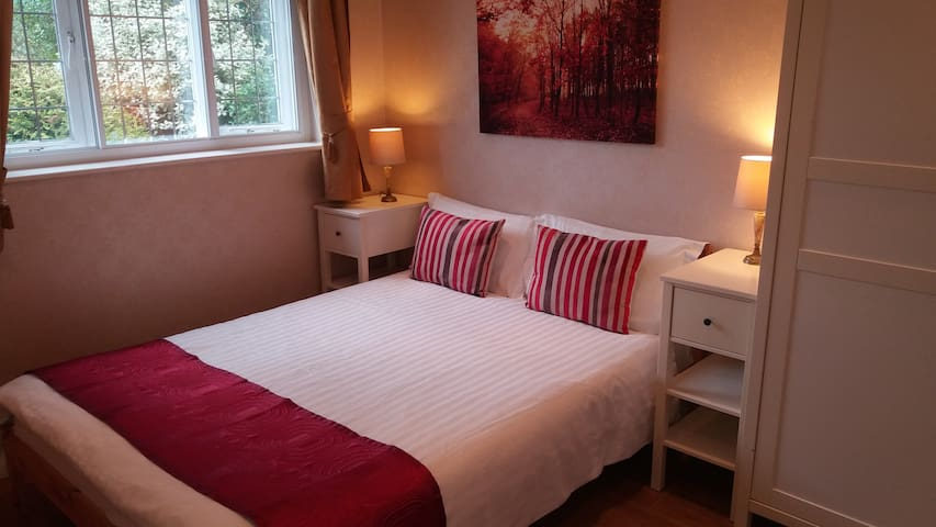 Main Bedroom with euro standard double bed