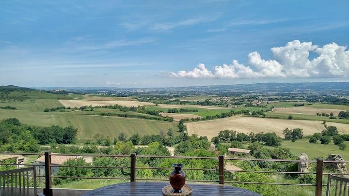 Maison avec vue panoramique