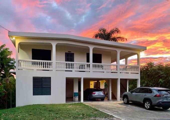 Casa Nancy in Puntas, Rincon| Sandy Beach Close-By