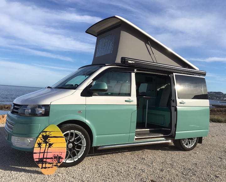 Cool Custom VW Campervan, Explore in Style!