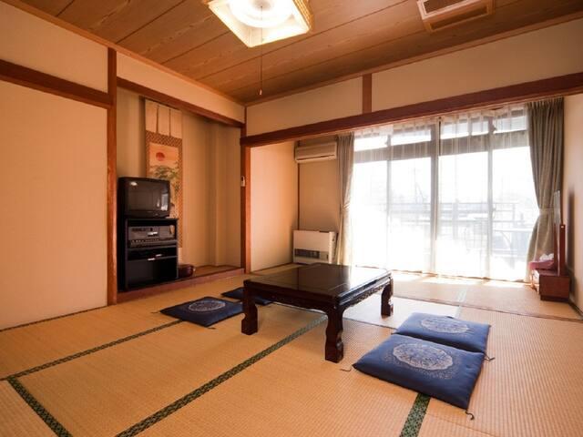 【コロナ対策】1グループ全室完全貸切15人まで宿泊可能