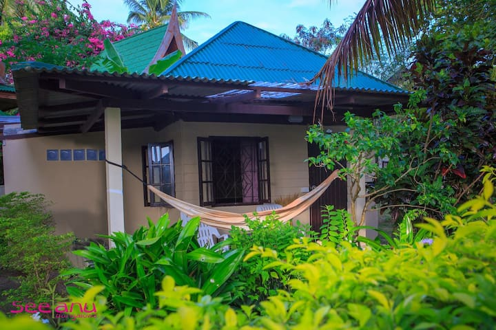 traditionnal thai bungalow 2 pers