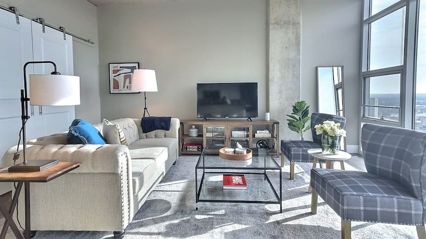 Downtown Kalamazoo Loft with a View