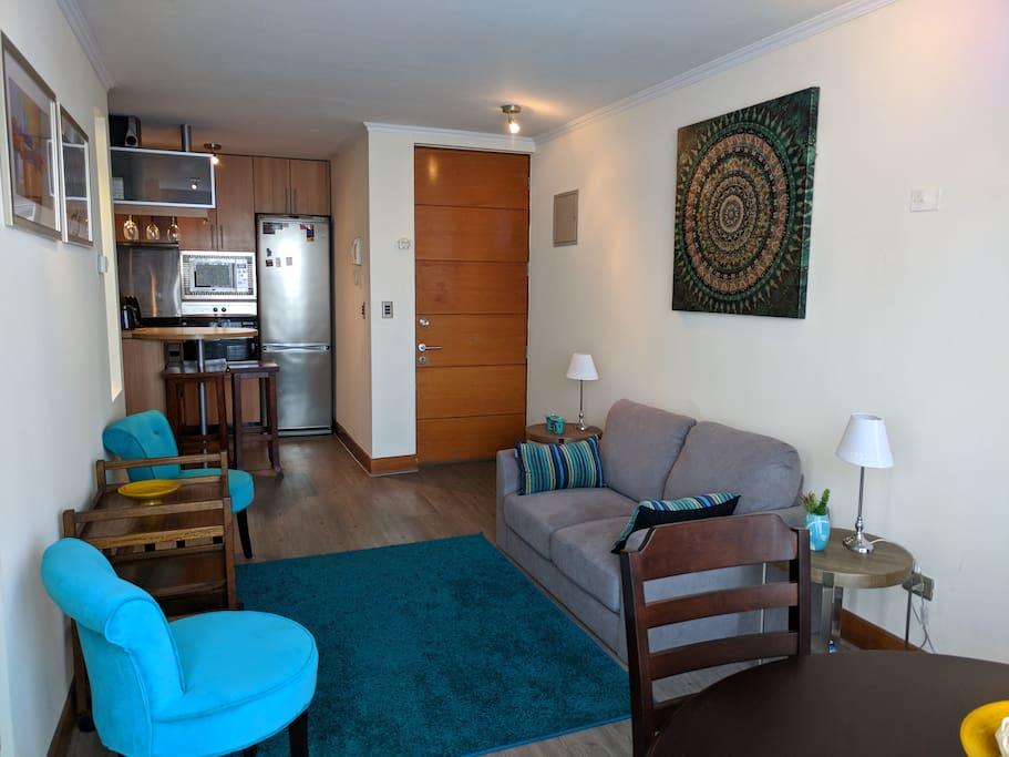 Living cocina / Living Room - Kitchen