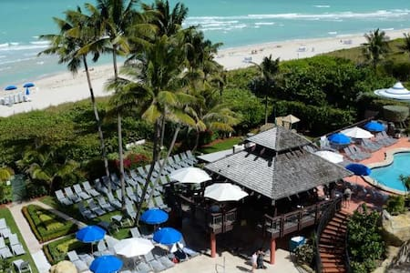 Miami Beach Oceanfront with 2 BR and beach access