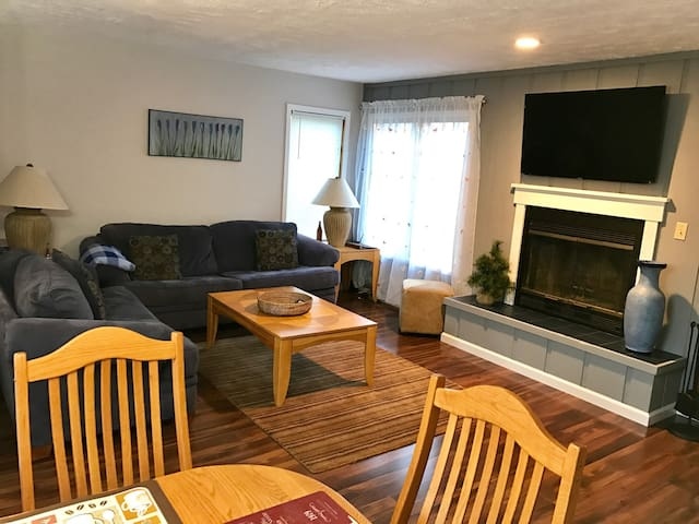 Cozy Townhouse-Fireplace, Roku, Pool and Jacuzzi - East Stroudsburg - Adosado
