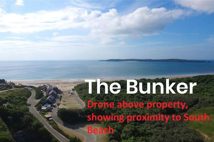 Tenby Seaside Apartment by Beach & Golf Course