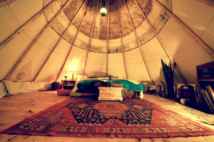 Charming Tipi among the Aspens - Whitefish - Tipi