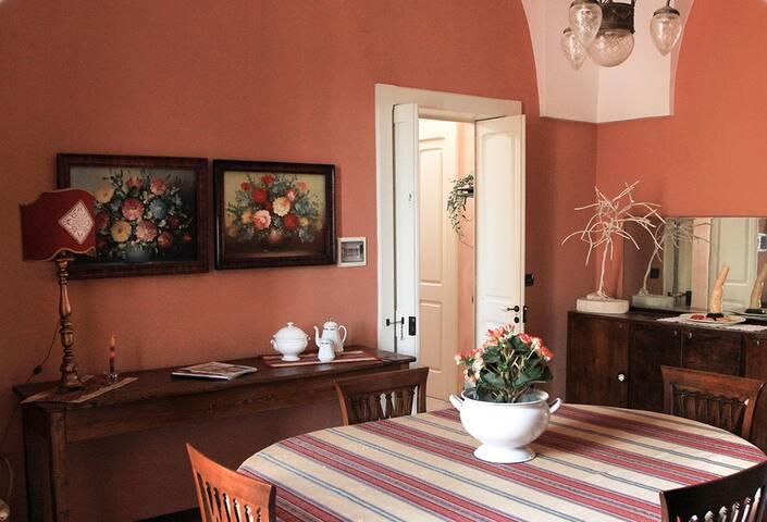 Appartamento inizi '900 restaurato - Magliano - Appartement