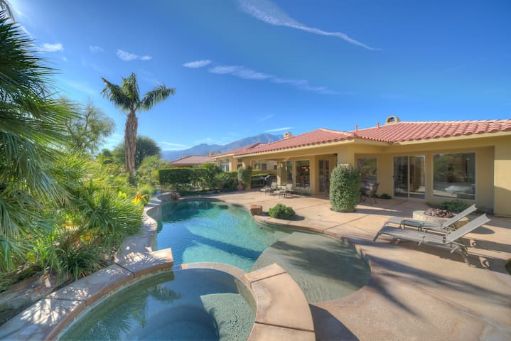 The Oasis at PGA West - This backyard is amazing!!