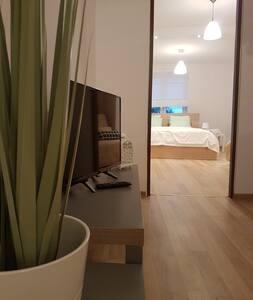 Pokoje nad Welem - Apartament Waniliowy - Lidzbark