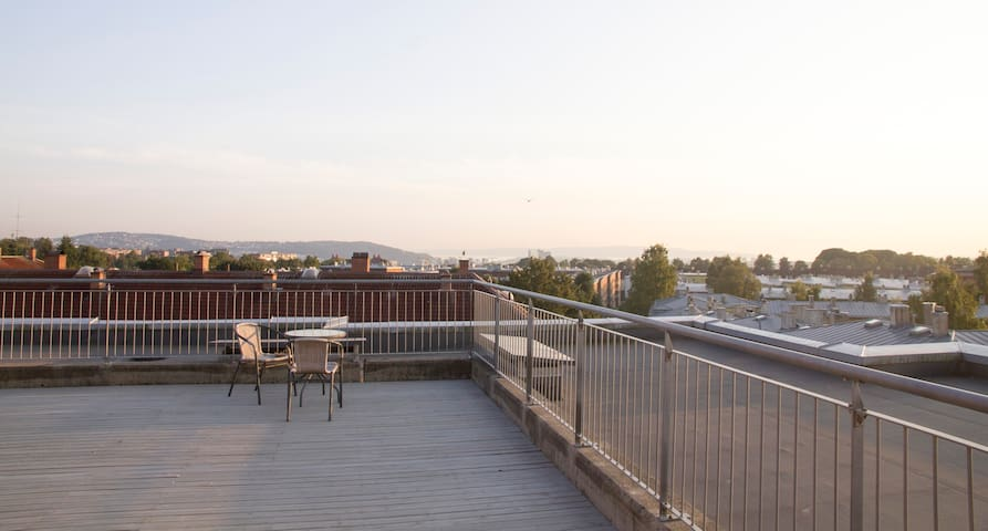 Top floor cozy apartment with sunny balcony - Oslo - Apartment