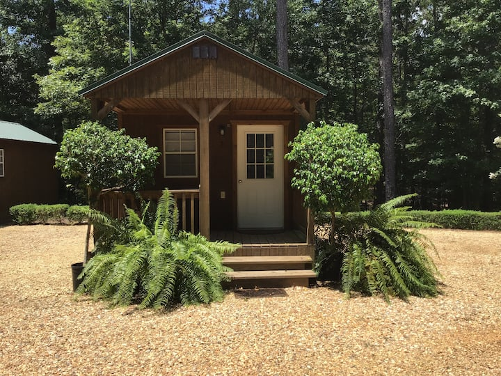 Cabin #1 at Creekwood Gardens