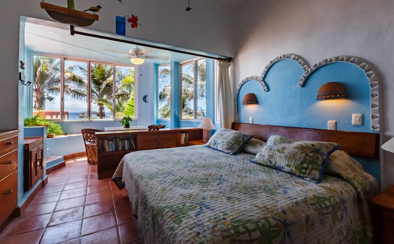 Master Bedroom with the amazing Caribbean view
