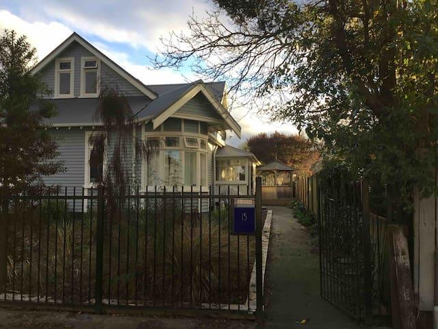 A classic Christchurch villa, modern and warm.