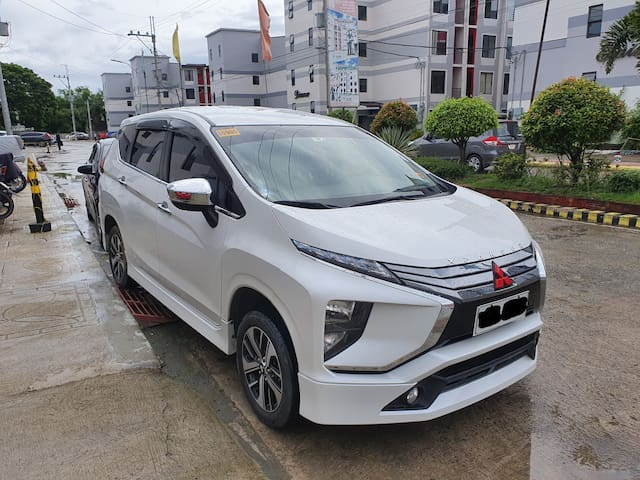 FREE AIRPORT PICKUP for your convenience. (Toll and gas included)  Mitsubishi Xpander : 7-8  seater including the driver. We offer transportation service which include airport transfer or full day booking.