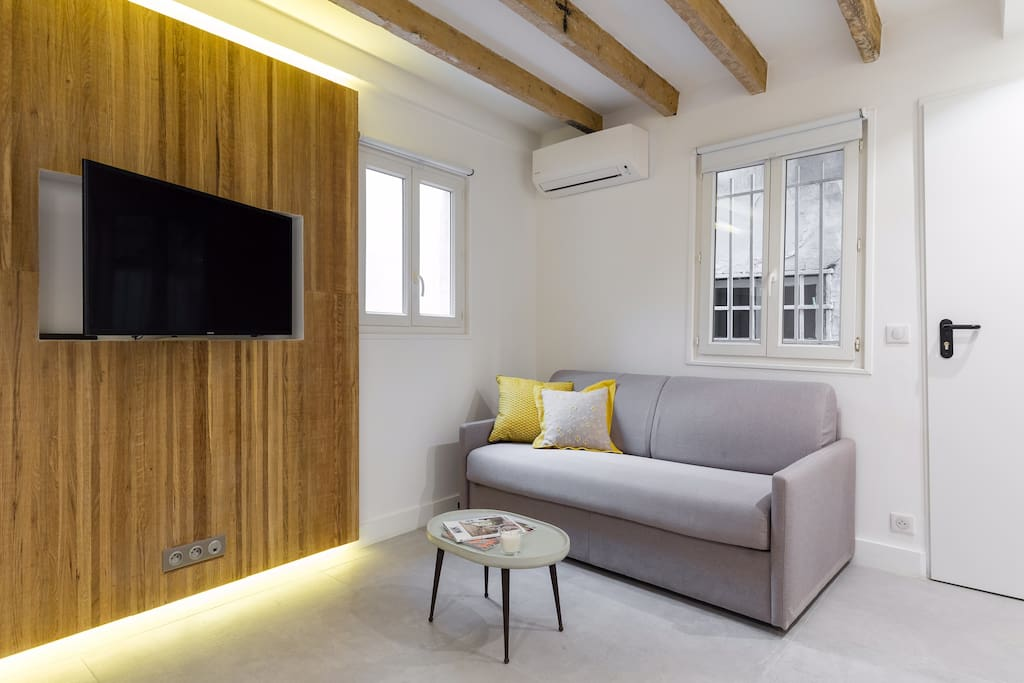 Cozy living-room with top quality design