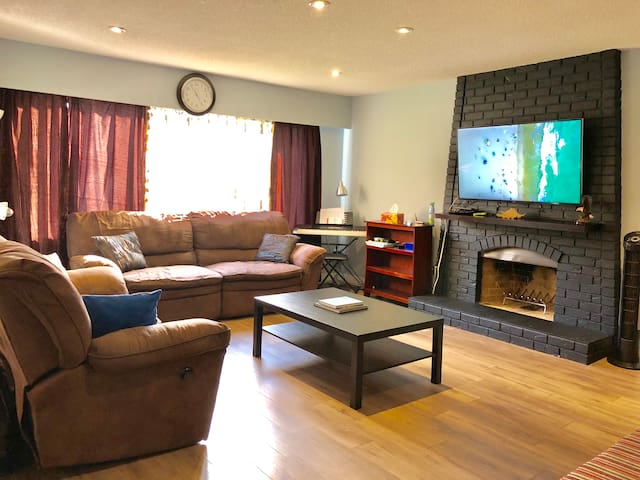 Convenient & Bright.3 BR. Home with  private entry