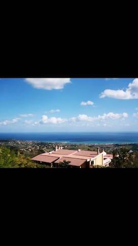 Villa panoramica zona Trabia - Sant'Onofrio - บ้าน