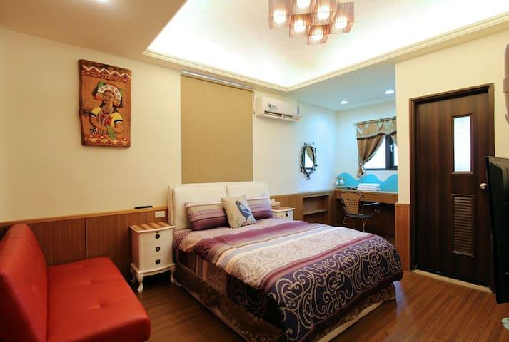 溫馨雙人房 - Ji'an Township - Bed & Breakfast