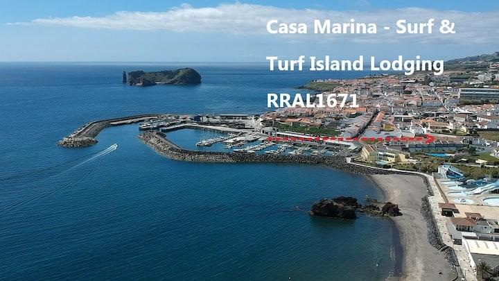 Casa Marina-Duplex (2 floors/4beds/3baths)