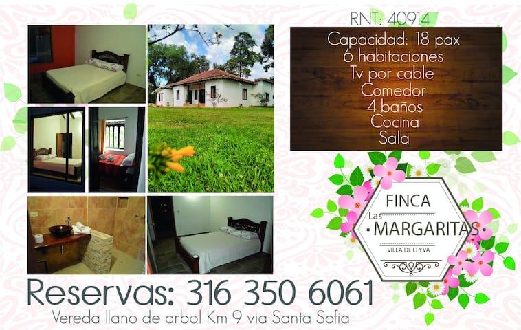 Casa Campestre Las Margaritas