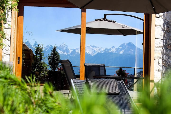 Luxury app 3 1/2, 150m2, Veysonnaz, Winoka Lodge