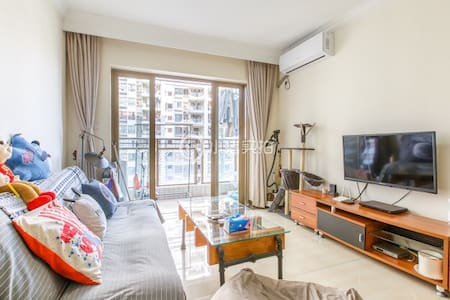 Cozy Room In Warm Apartment At CBD Global Internet - กวางโจว - อพาร์ทเมนท์