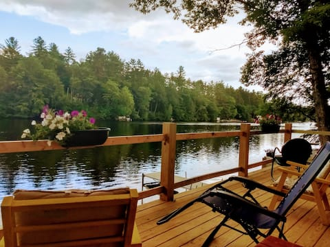 Peace - serenity-superclean Adirondack waterfront