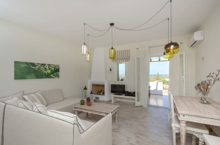 House - 3 km from the beach - Naxos - Casa