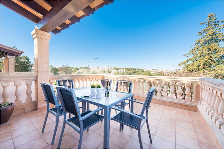 CASA TONI - Chalet with balcony in Porto Cristo Novo (Manacor). Free WiFi