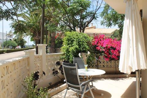 Apartament 5, a prop de la platja, còmode, acollidor, terrassa