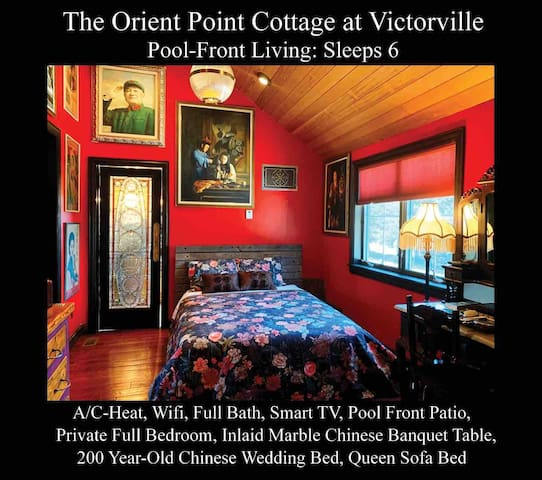 The Orient Point Cottage at Victorville Sleeps 6