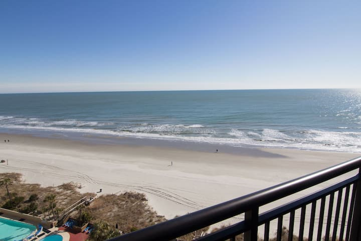 Ocean Front Myrtle Beach Condo in Beach Cove Resort 1119