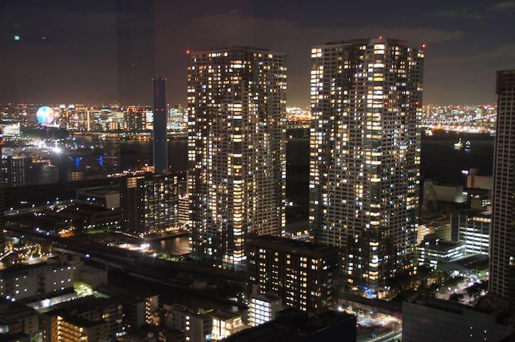 The upper floor with very nice view - Chūō-ku