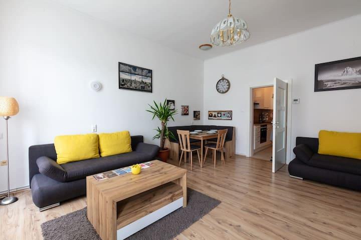 *sunny cozy renovated apartment close to centre
