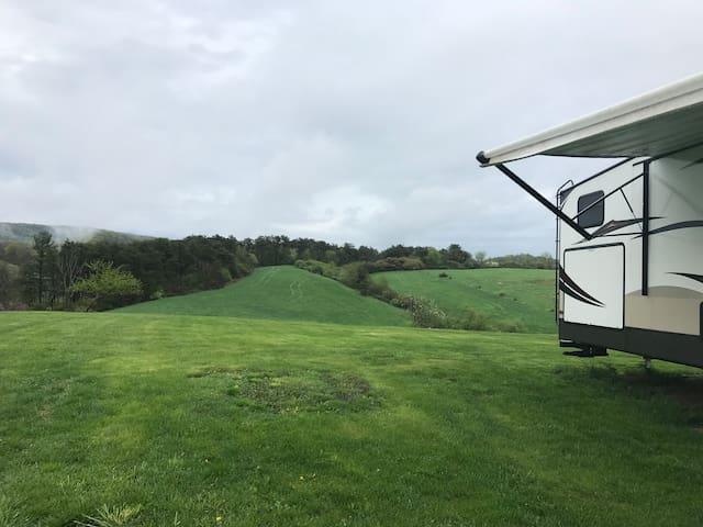 Country Camper with View