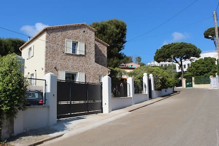 Cap d'Antibes: a quiet B&B close to La Garoupe.... - Antibes